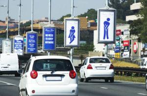 westonaria street pole advertising